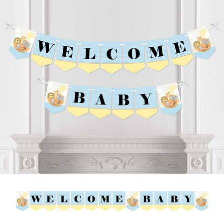 Noah's Ark - Baby Shower Bunting Banner - Animal Party Decorations - Welcome - Noah's Ark Baby Shower
