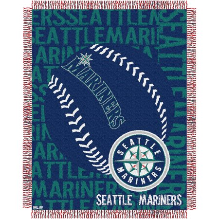 Seattle Mariners The Northwest Company 46'' x 60'' Double Play Jacquard Throw - No
