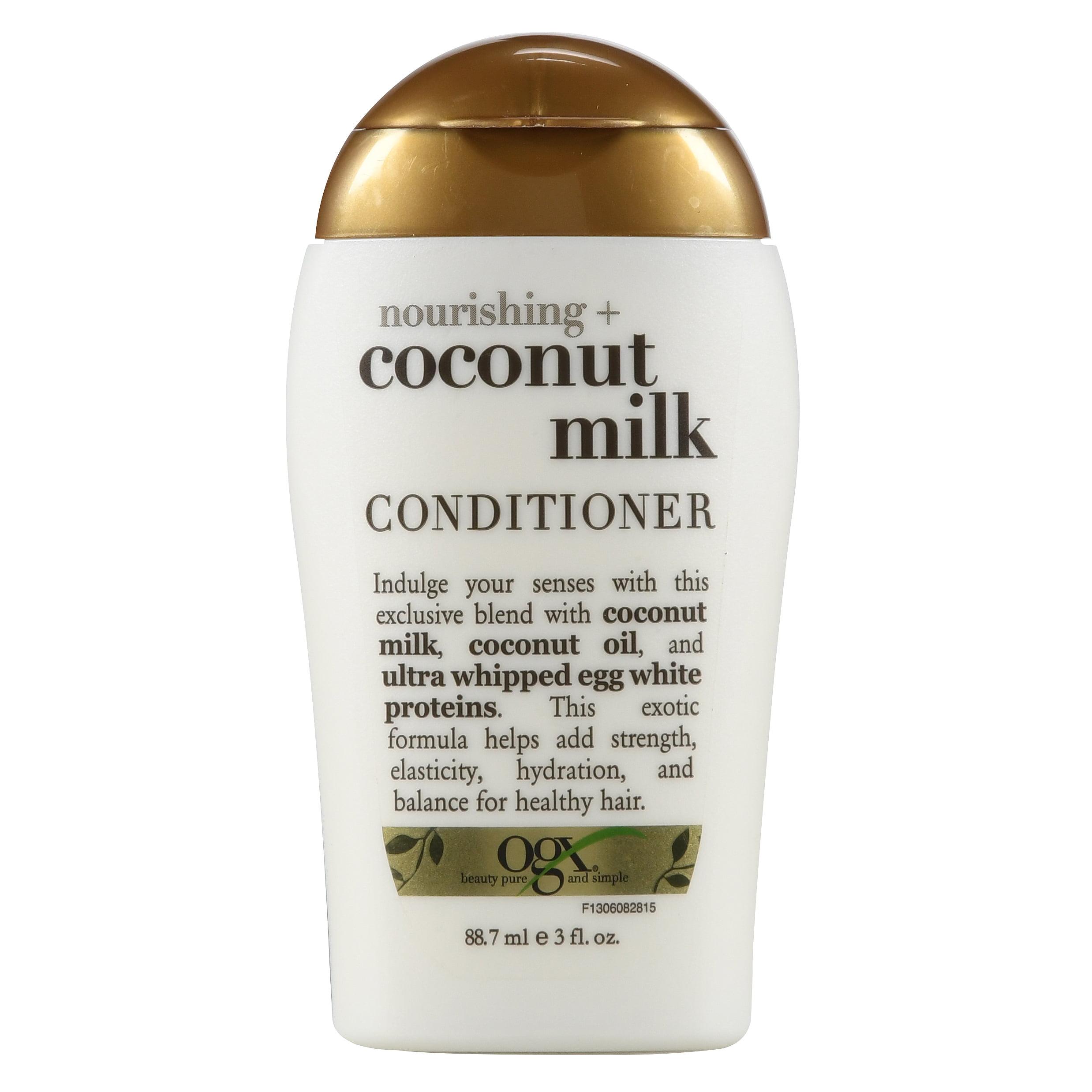 Organix Nourishing Coconut Milk Conditioner, 3 Oz