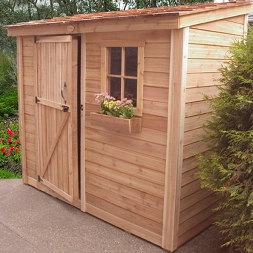 Outdoor Living Today SS84 SpaceSaver 8 x 4 ft. Storage Shed
