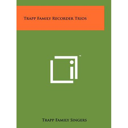 Trapp Family Recorder Trios