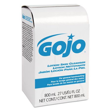 Gojo Lotion Skin Cleansers, Bag-in-Box, 800 mL ()
