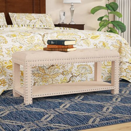 Fabulous Charlton Home Selena Upholstered Storage Bench Theyellowbook Wood Chair Design Ideas Theyellowbookinfo