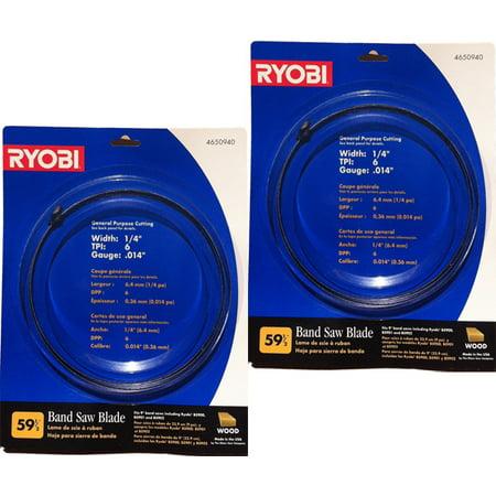 Ryobi bs90 band saw 6t 14 x 59 12 blade 2 pack 4650940 2pk ryobi bs90 band saw 6t 14 x 59 12 blade greentooth Image collections