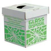 SP SCIENCEWARE 24653-0002 Glass Disposal Container,12 lb,PK6 G7918827