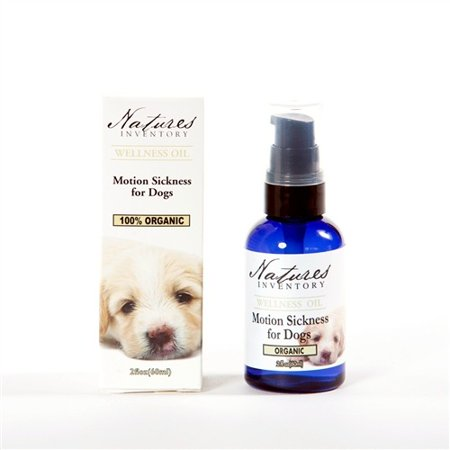 Motion Sickness For Dogs  Wellness Oil Nature's Inventory 2 fl oz (60ml) -