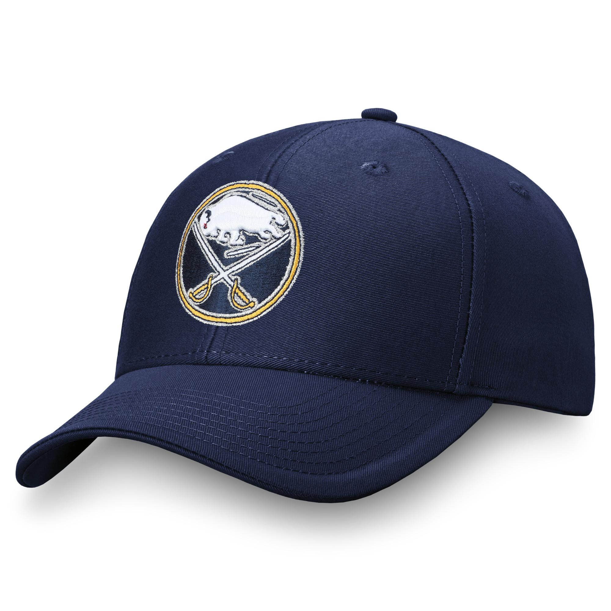 Men's Fanatics Branded Navy Buffalo Sabres Adjustable Hat - OSFA