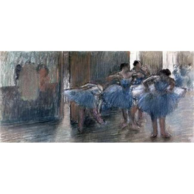 Bentley Global Arts PDX277313SMALL Dancers Poster Print by Edgar Degas, 10 x 20 - Small - image 1 of 1
