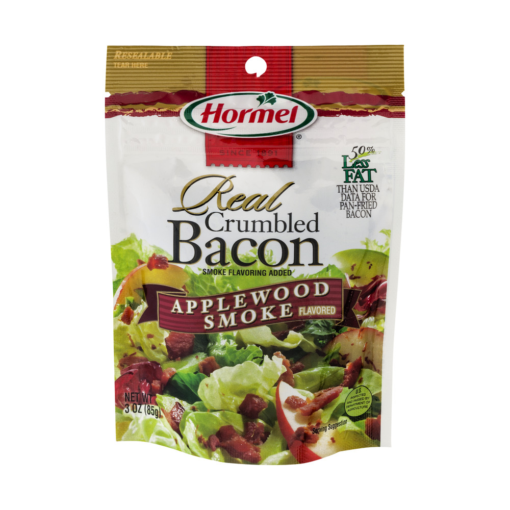 Hormel Real Crumbled Bacon Applewood Smoke, 3.0 OZ