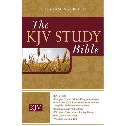Holy Bible: King James Version Study Bible