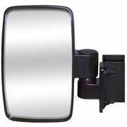 CIPA 01140 UTV Utility Vehicle 4.625 x 7.75 Inch Adjustable Side Mirror, Single