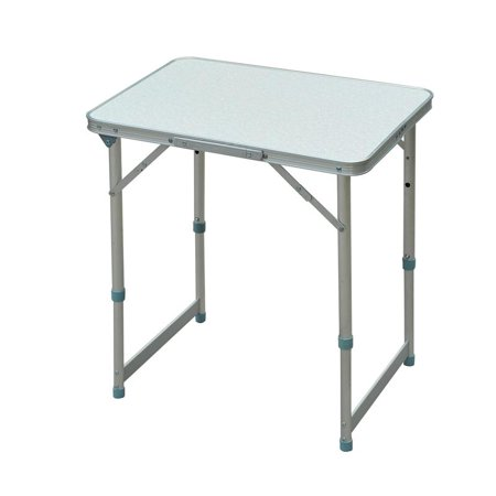 Outsunny Aluminum Camping Folding Camp Table With Carrying Handle 23 5 Inch X 17 5 Inch