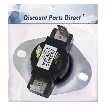 3387134 Dryer Cycling Thermostat Replacement Parts for Whirlpool Kenmore Maytag Dryer Replaces 306910, 3387134, 3387135, 3387139, WP3387134VP Maytag Replacement Parts