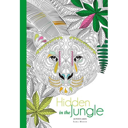Hidden in the Jungle : 20 Postcards