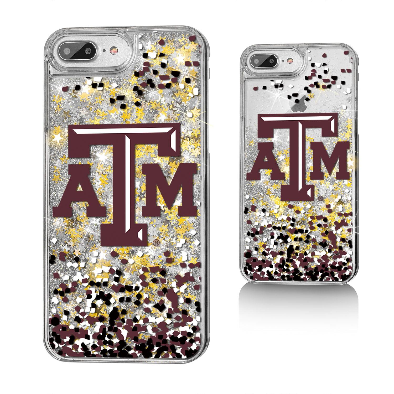 ATM Texas A&M Aggies Confetti Glitter Case for iPhone 8 Plus / 7 Plus / 6 Plus