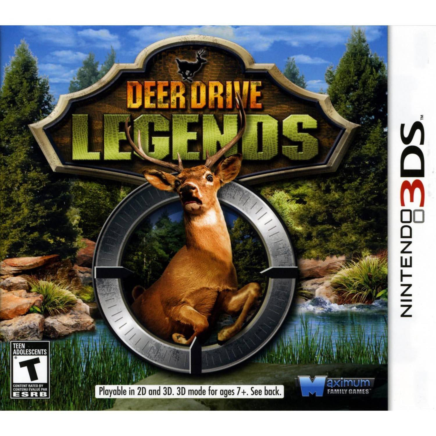 Deer Drive Legends 3D (Nintendo 3DS)