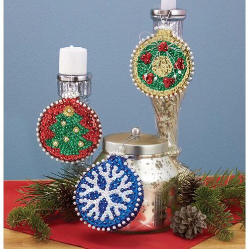 Sunrise Craft   Hobby Holiday Nostalgia Ornament Kit