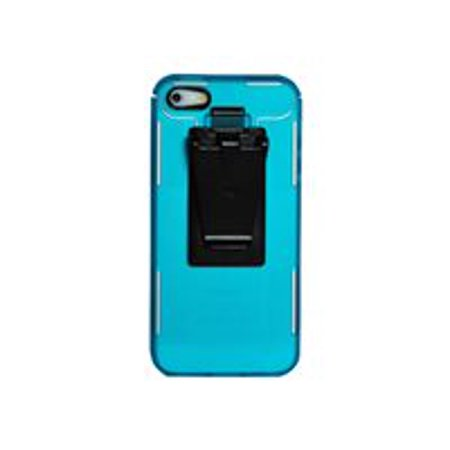 Nite Ize Connect - Back cover for cell phone - lexan - translucent  turquoise - for Apple iPhone 5, 5s