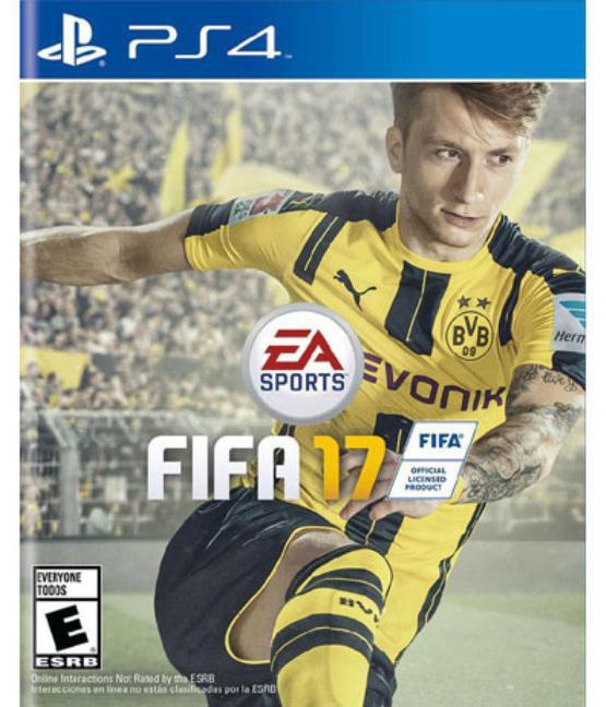 FIFA 17, Electronic Arts, PlayStation 4, 014633368710