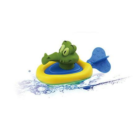 matoen Baby Bathing Boat Animal Toys Infant Kids Children Swimming Pool Pull Toy