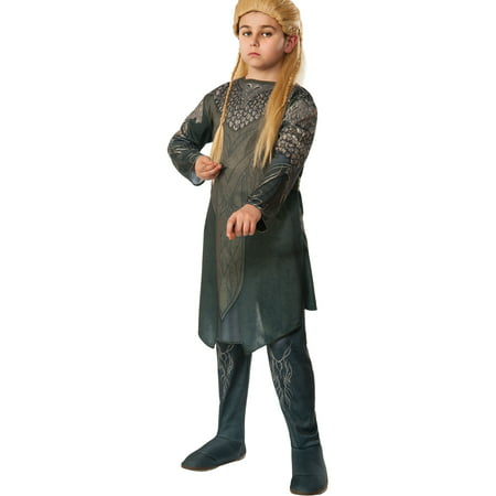 Child's Boys Lord Of The Rings Hobbit Desolation Of Smaug Legolas Elf - Lord Of The Rings Costumes For Sale