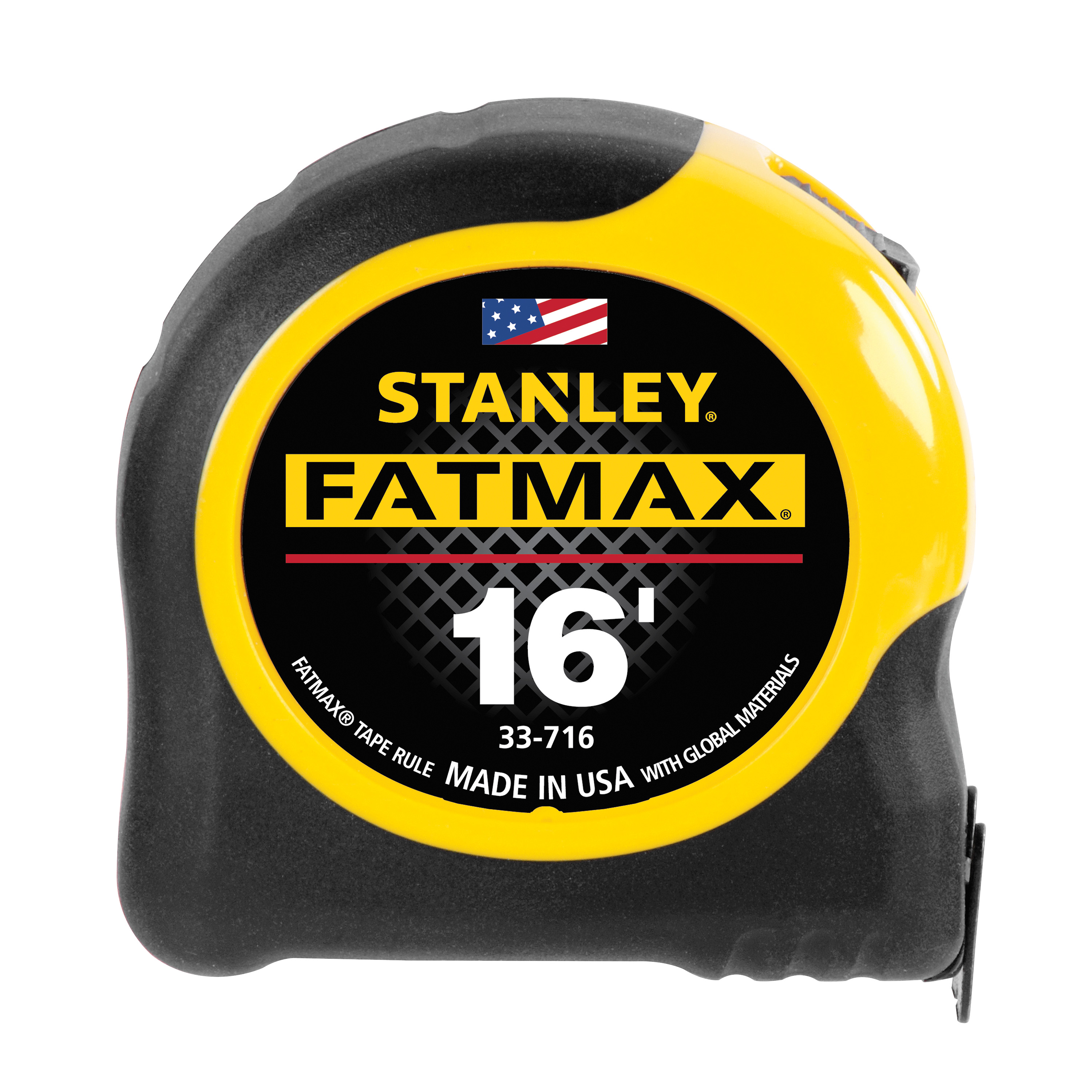 STANLEY 33-716 FatMax Blade Armor Reinforced Tape Measure, 1 1/4in x 16ft
