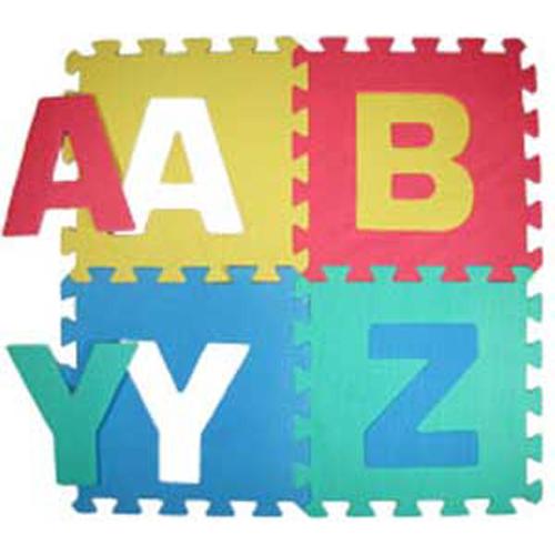 Foam Alphabet Floor Mat Puzzle Letters Flooring New