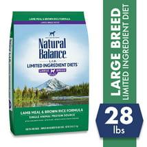 Natural Balance Limited Ingredient Diets Large Breed Bites
