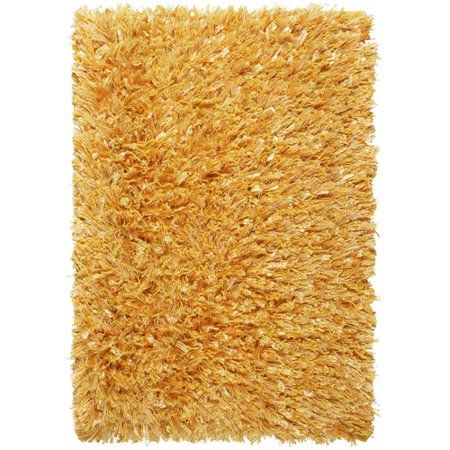 St. Croix Shimmer Hand-Loomed Yellow Area Rug ()