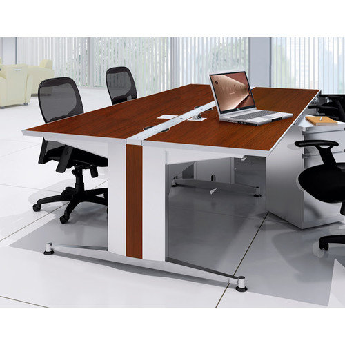 Mayline Group 48'' W x 60'' D Dual-Sided Training Table