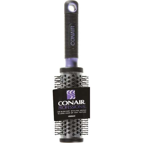 Conair Professional Black & Purple Round Brush