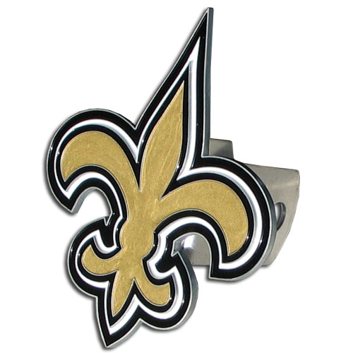 New Orleans Saints Official NFL Logo Hitch Cover by Siskiyou 201868