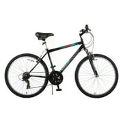 TITAN Trail 21-Speed Suspension Men's Mountain Bike, Black