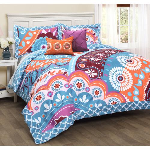 Bungalow Rose Belina 5 Piece Reversible Comforter Set