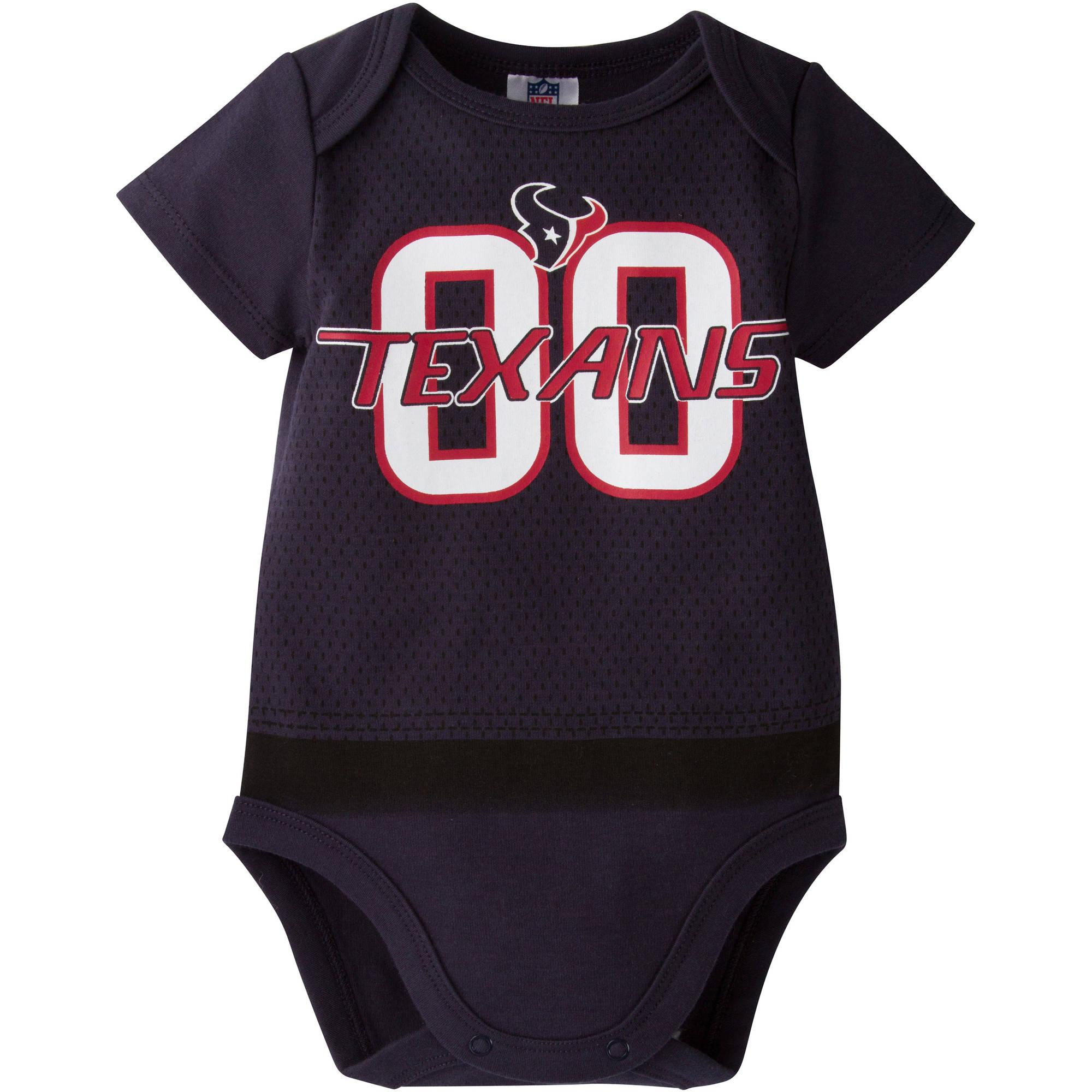 NFL Houston Texans Baby Boys Team Bodysuit