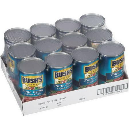 (Price/Case)Bush's Best 001814 Bush's Best Pinto Beans 12-27 (The Best Pinto Beans)