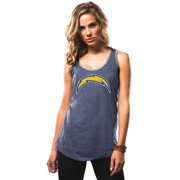 """San Diego Chargers Women's Majestic NFL """"Tested"""" Tri-Blend Tank Top Shirt"""