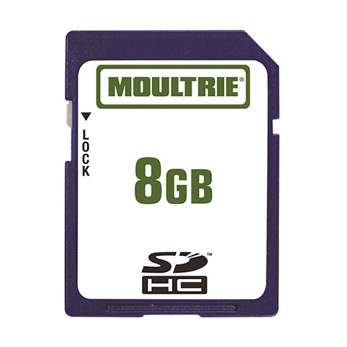 Moultrie MFHP12541 8GB SD Memory Card Can Be Used With SDHC Compatible Devices - Single