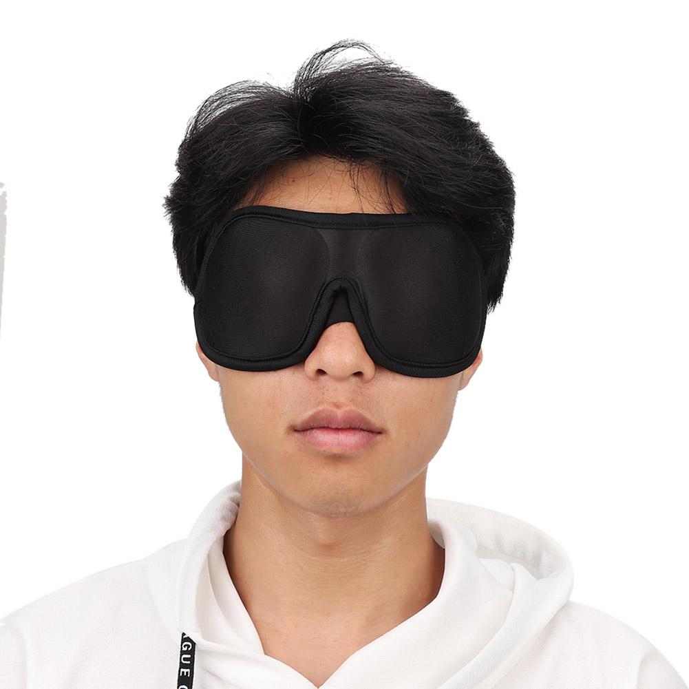 Travel Eye Mask Shade Cover Blindfold Shield Sleeping Aid Sleep Sponge Eyepatch