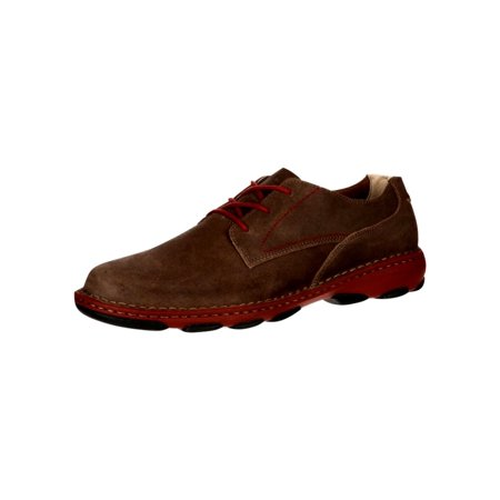 City Adventure Casual Oxford - Rocky Work Shoes Mens Cruiser Casual Oxford Memory Brown RKS0212