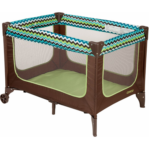 Cosco Funsport Play Yard, Chevron Lime