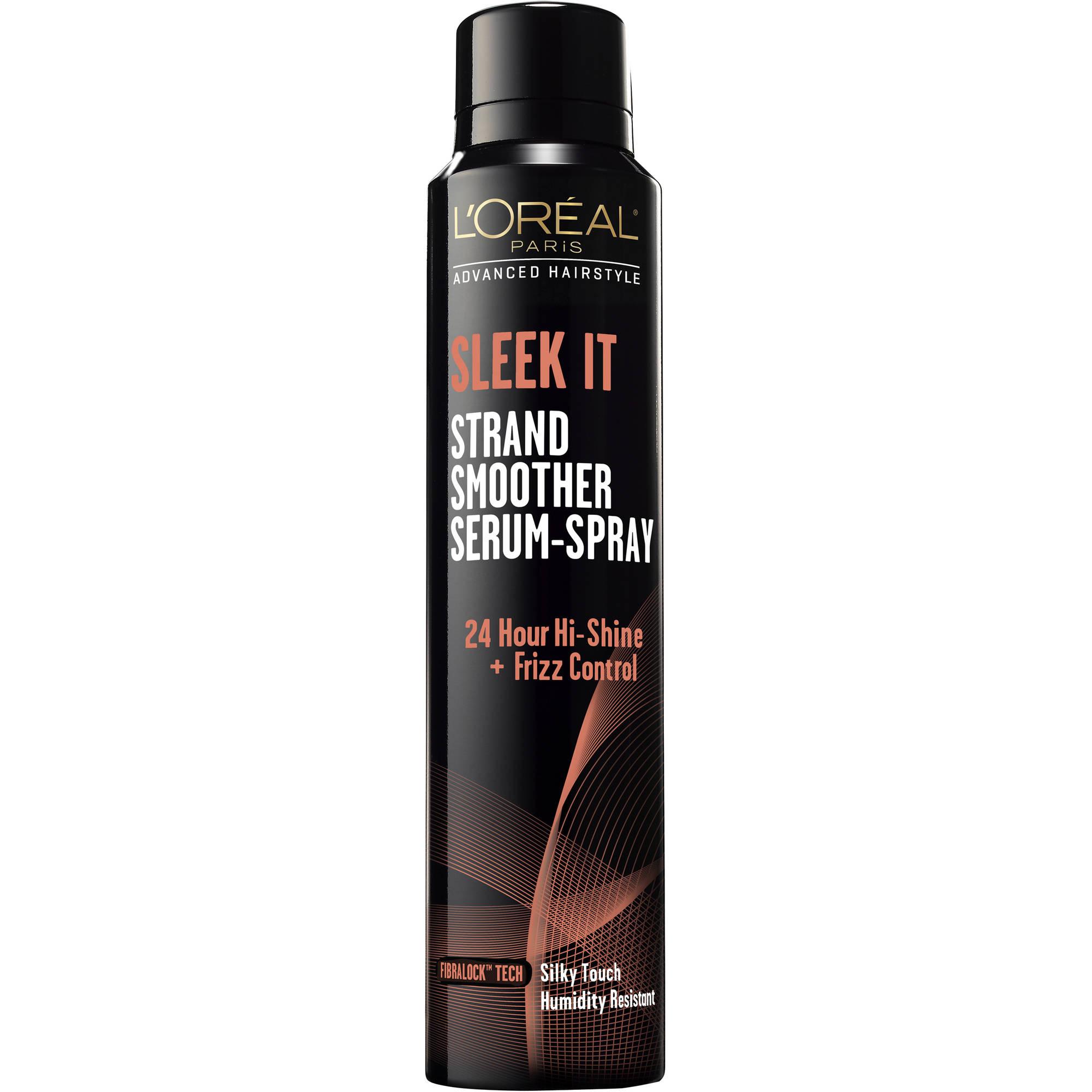 L'Oreal Paris Advanced Hairstyle Sleek It Strand Smoother Serum-Spray, 5.3 oz