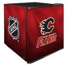 NHL Solid Door Refrigerated Beverage Center 1.8 cu ft - Calgary Flames