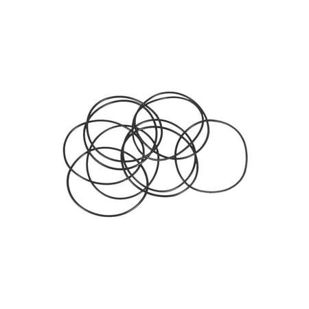 O-Rings Nitrile Rubber 36mm x 38mm x 1mm Seal Rings Sealing Gasket 10pcs