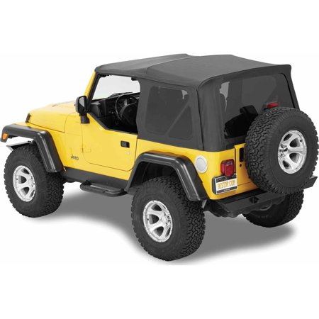 Bestop Door Sill - Bestop 54720-37 Jeep Wrangler 2-Door with Tinted Windows Supertop Nx, Replacement Top, Spice