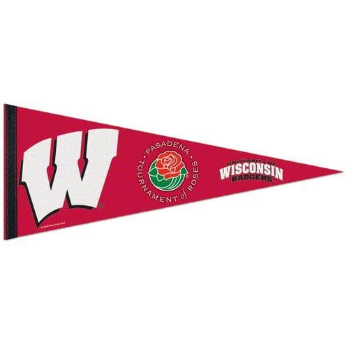 NCAA - Wisconsin Badgers 2011 Rose Bowl 12x30 Premium Felt Pennant