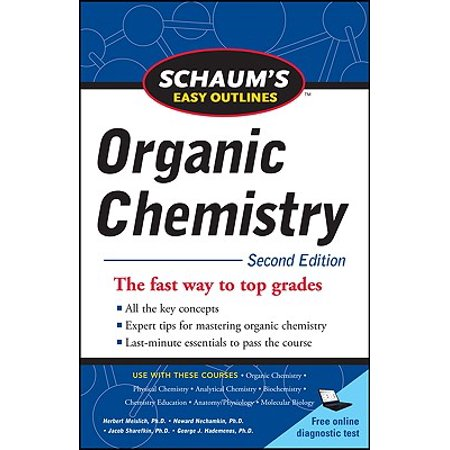 Schaum's Easy Outline of Organic Chemistry, Second