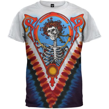 - Grateful Dead - Bertha Multi Tie Dye T-Shirt