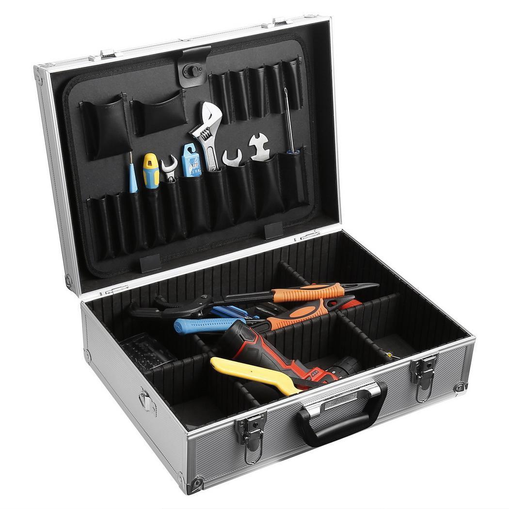 18''Aluminum Lockable Tool Box Truck Tool Box Textured Tool Box by