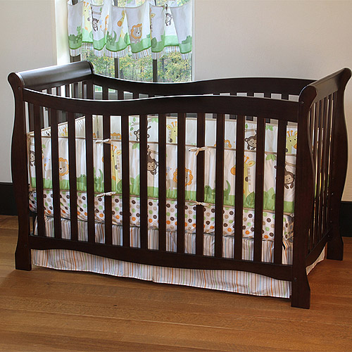 Carter's Child of Mine 4-in-1 Convertible Crib Chocolate